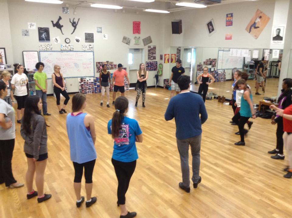 Workshop at North Little Rock High School