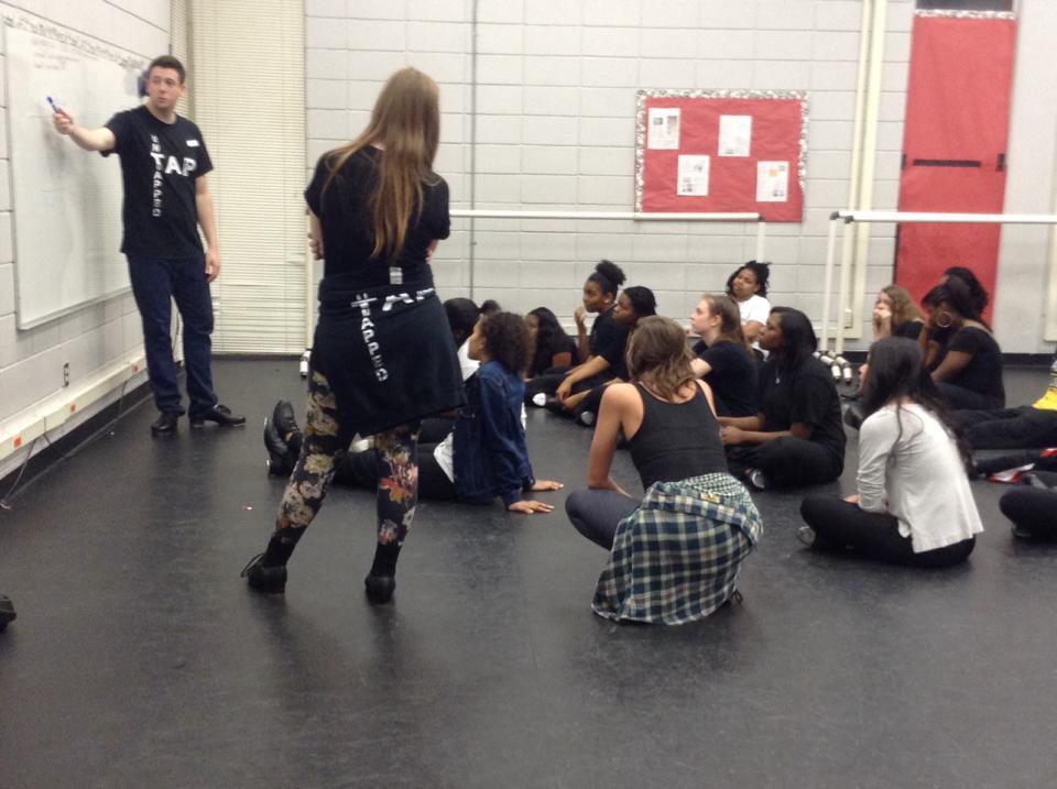Workshop at Parkview Magnet High School in Little Rock