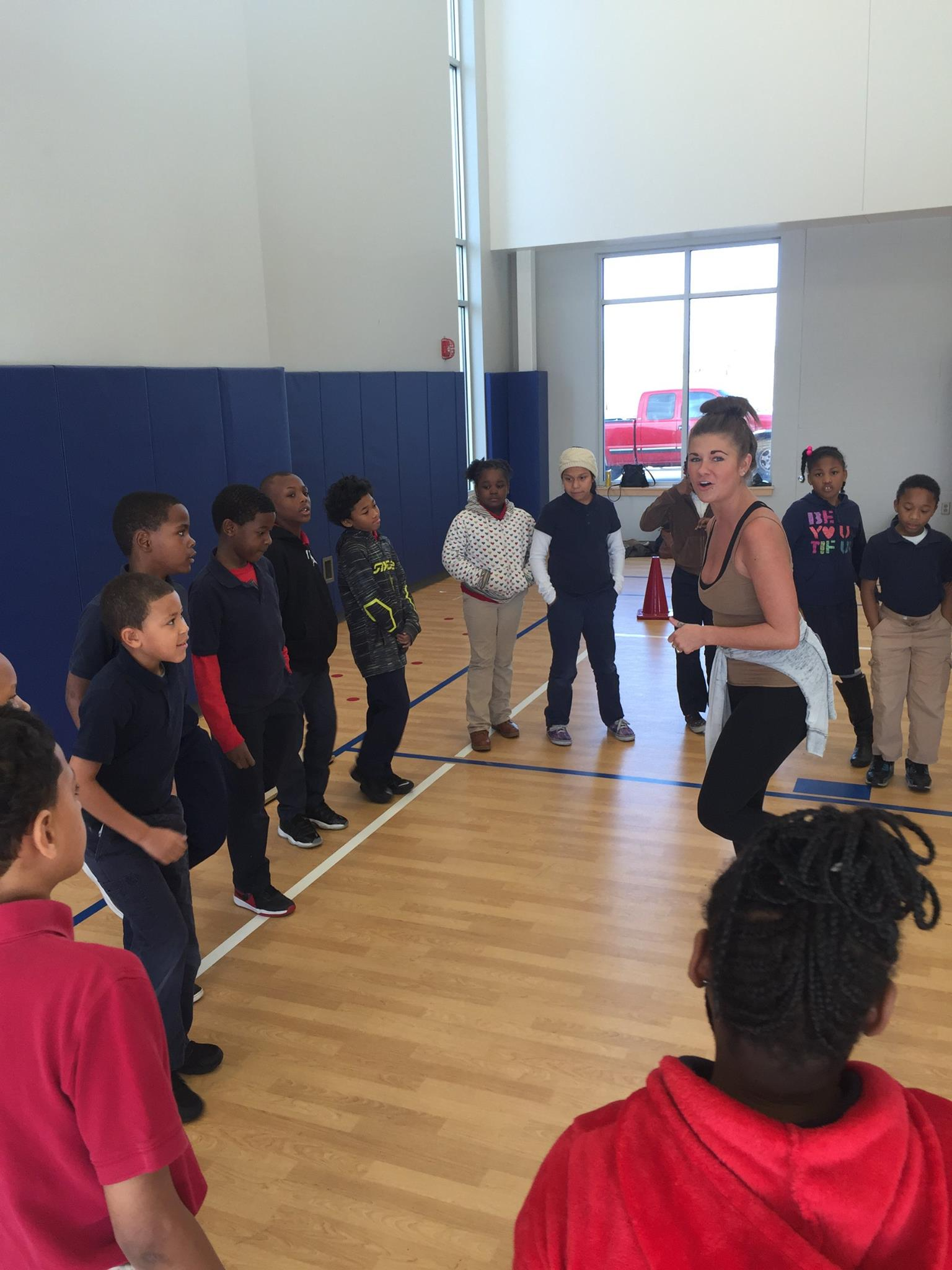 Workshop at Meadow Park Elementary in North Little Rock