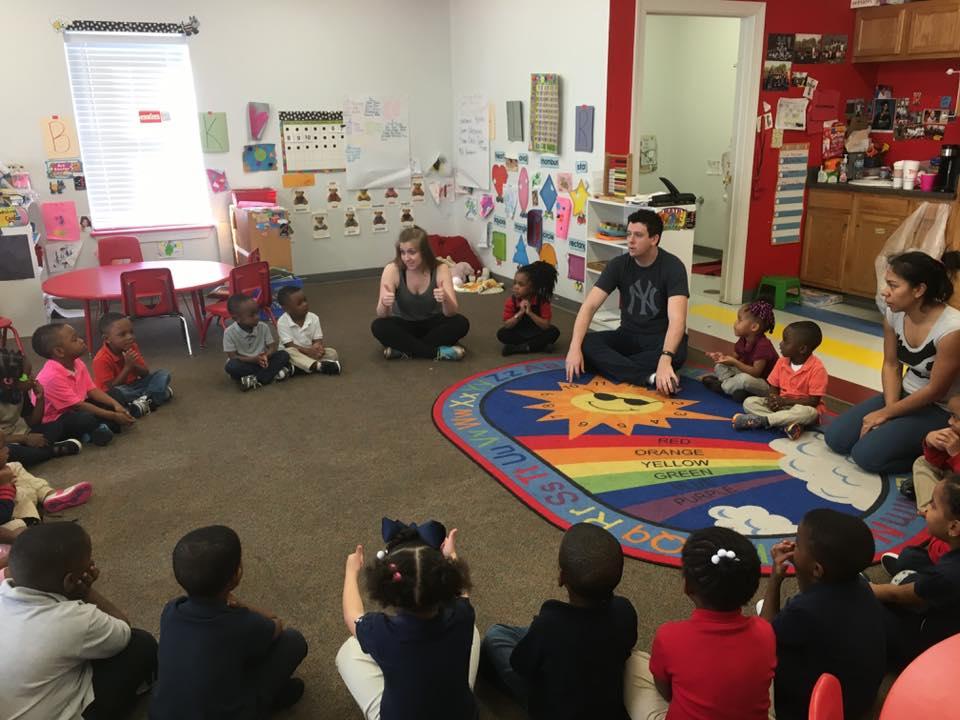 Workshop at Scholastic Academy Preschool in Little Rock