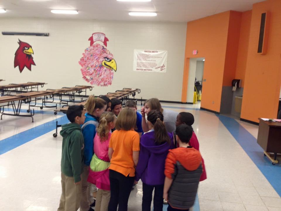 Workshop at Bayou Meto Elementary in Jacksonville