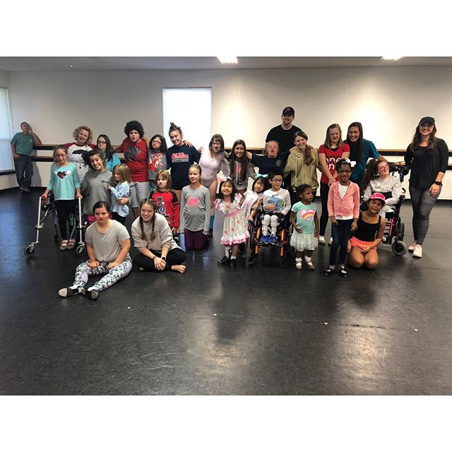 Such a great morning partnering with iCan! Dance to provide a Tap Dance workshop for these sweet kids! iCan! Dance is a nonprofit organization that provides free dance classes to special needs children. We had so much fun dancing with them today and exposing them to tap dance! Thank you for having us, iCan! Of Arkansas!