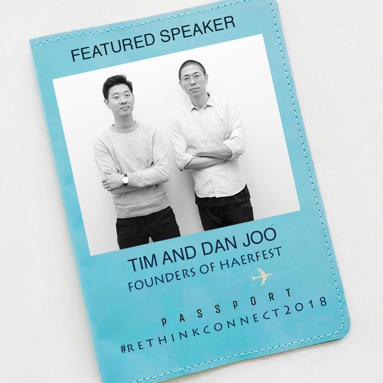 Tim and Dan Joo, Founders of Haerfest