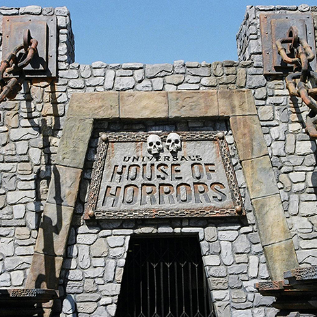 UNIVERSAL STUDIOS - HOUSE OF HORRORS