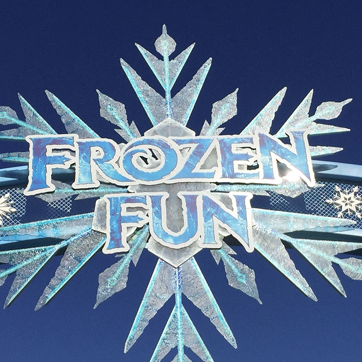 FROZEN FUN - ANAHEIM