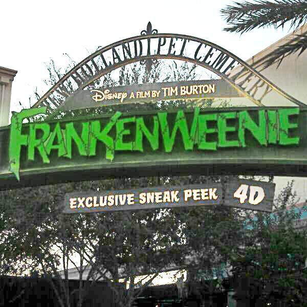 FRANKENWEENIE - ANAHEIM, CA