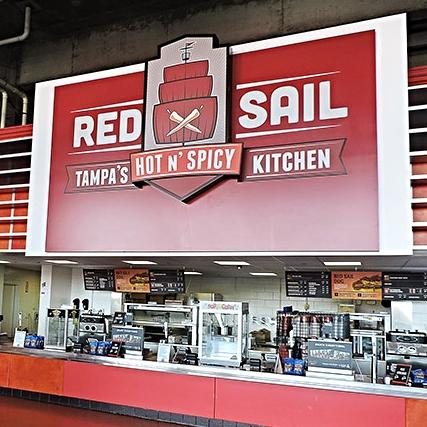 RED SAIL - ORLANDO, FLORIDA