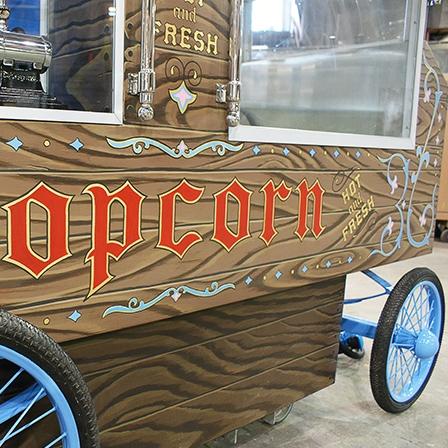 POP CORN CART - ANAHEIM, CA
