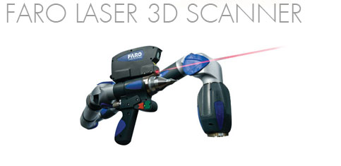 - Wireless Scanning Laser Line Probe  is fully compatible with Quantum FaroArm's Bluetooth® technology. - Laser scan up to 19,200 points per second  - Fully Integrated 7-Axis Scanning. No external attachments and internal wiring provide greater flexibility to motors that have their own respective gear unit.