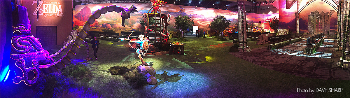 Behind the Scene Production: Zelda: E3 EXPO 2016 >>