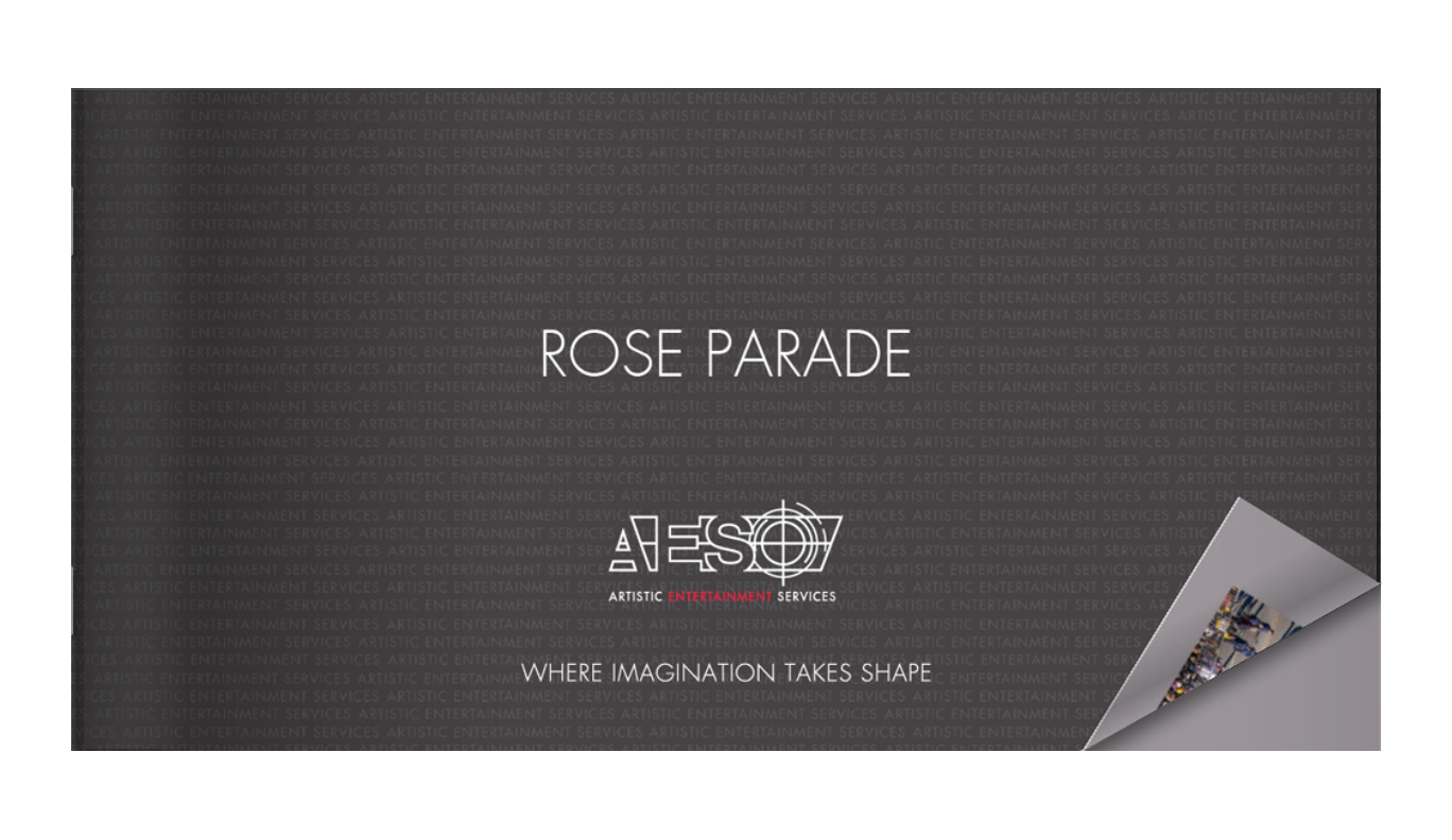 AES ROSE PARADE FLOATS