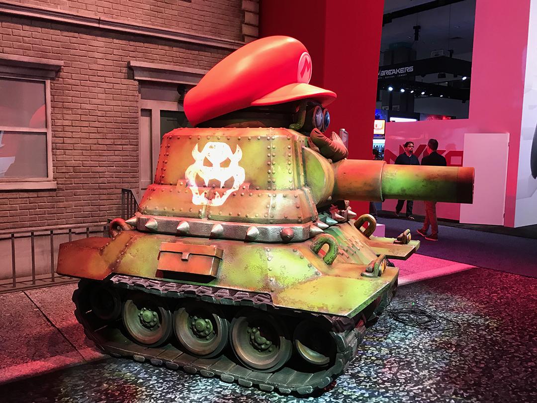 E3 EXPO-Nintendo: Mario Odyssey