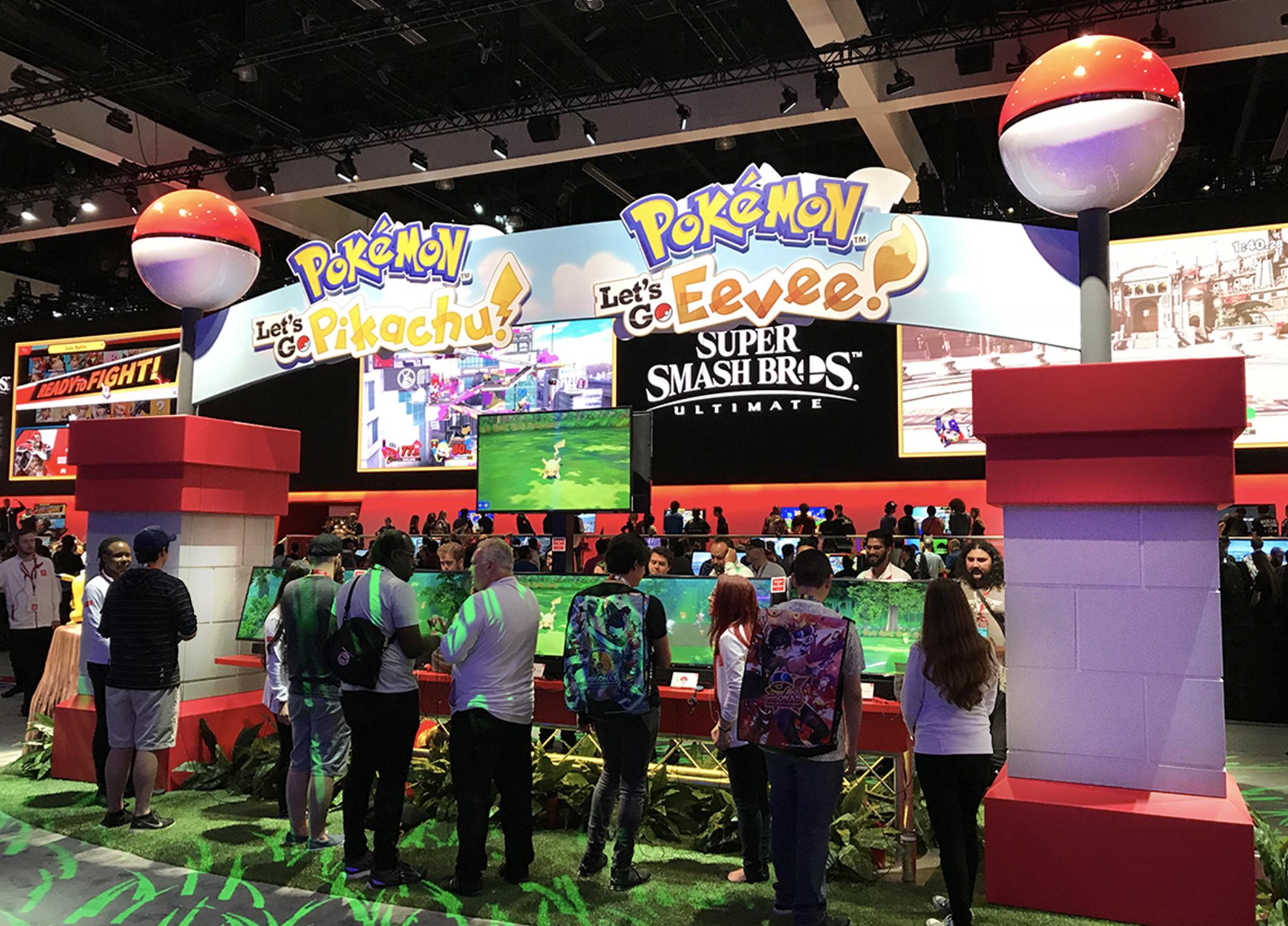 Ts E3 2018 Nintendo Switch Artistic Entertainment Services