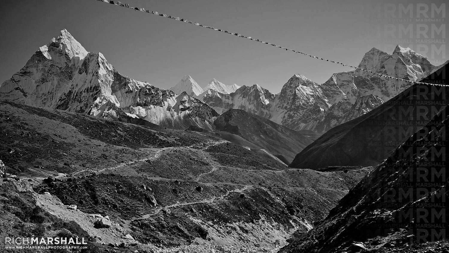 Khumbu Valley, approach to Everest