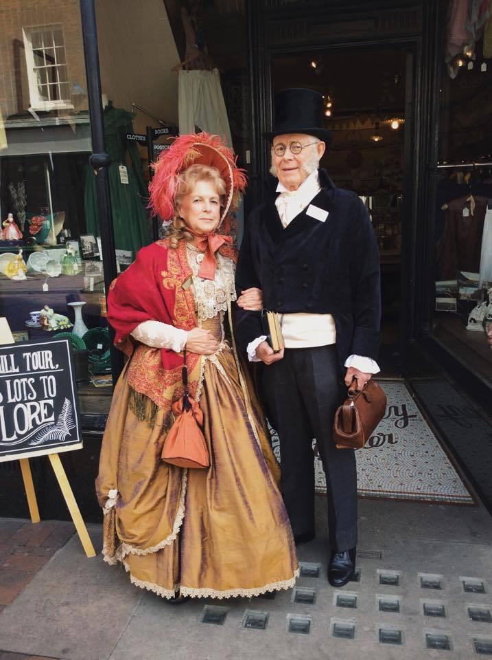 John and Dawn Howard as Madam Mantlini & Mr Brownlow