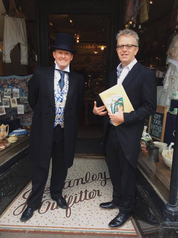 Simon Lace & Andrew Freeman, our friends from the Guildhall Museum