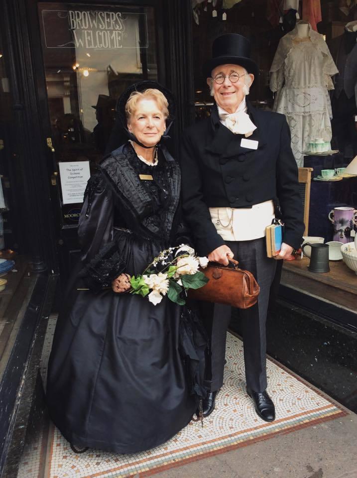 John & Dawn Howard as Lady Dedlock & Mr Brownlow