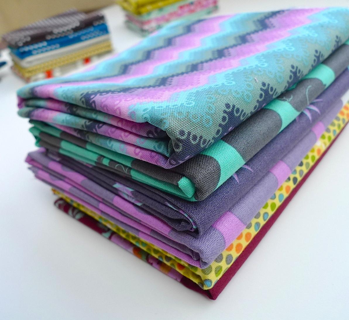 Free Spirit Fabrics (mainly Tula Pink)