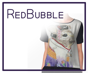 RedBubble Shop - mjposton art