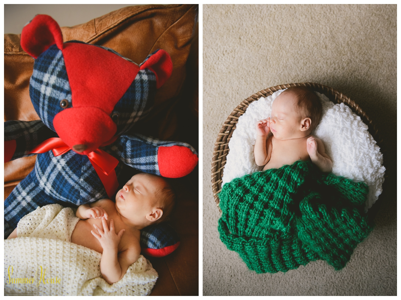 Photo to left:   Baby Logan wasn't able to meet  his great-grandfather, but part of him will always be with him. This teddy bear is made from his pajamas.  How sweet is that!?