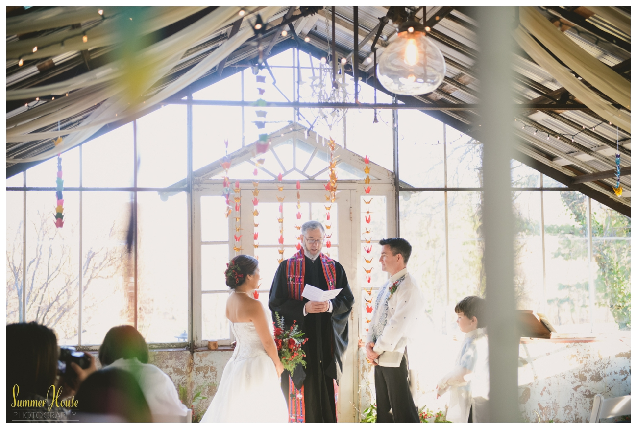 historic shady lane greenhouse wedding