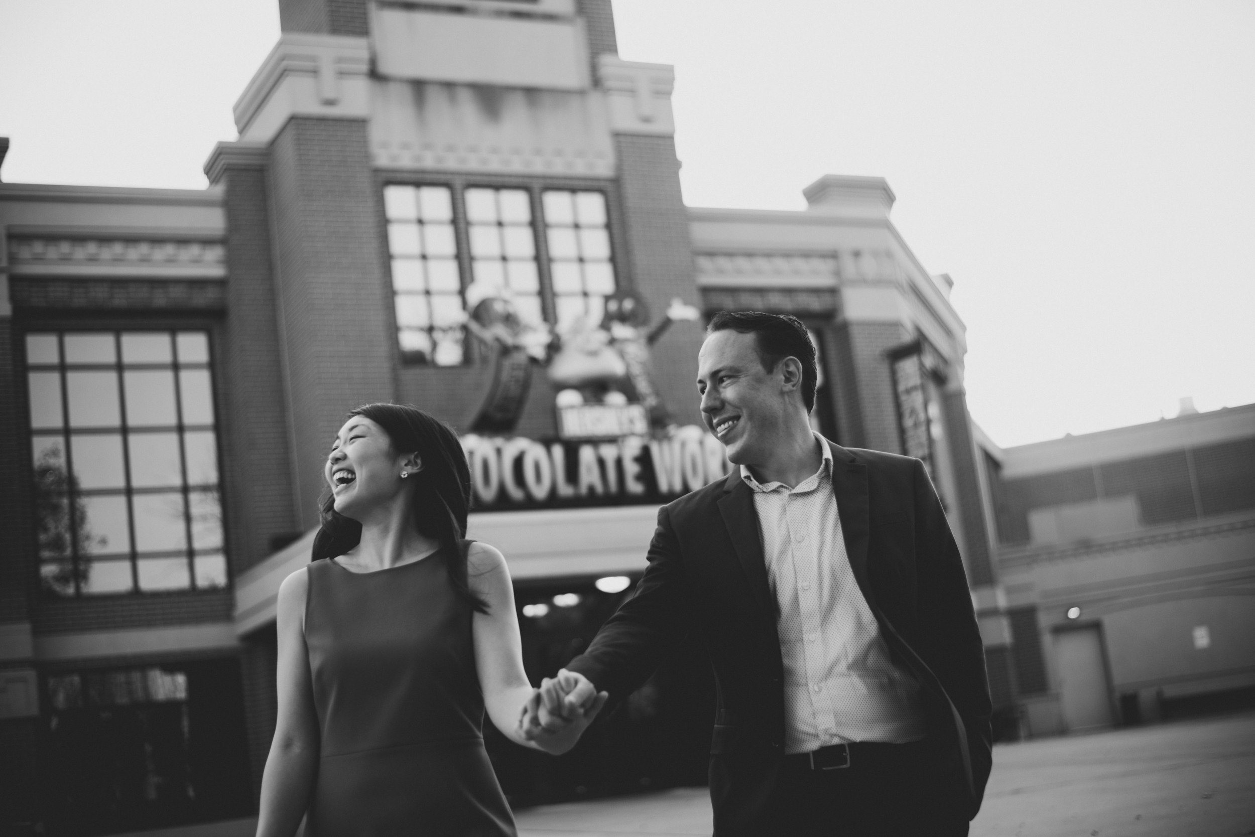 hershey park engagement session