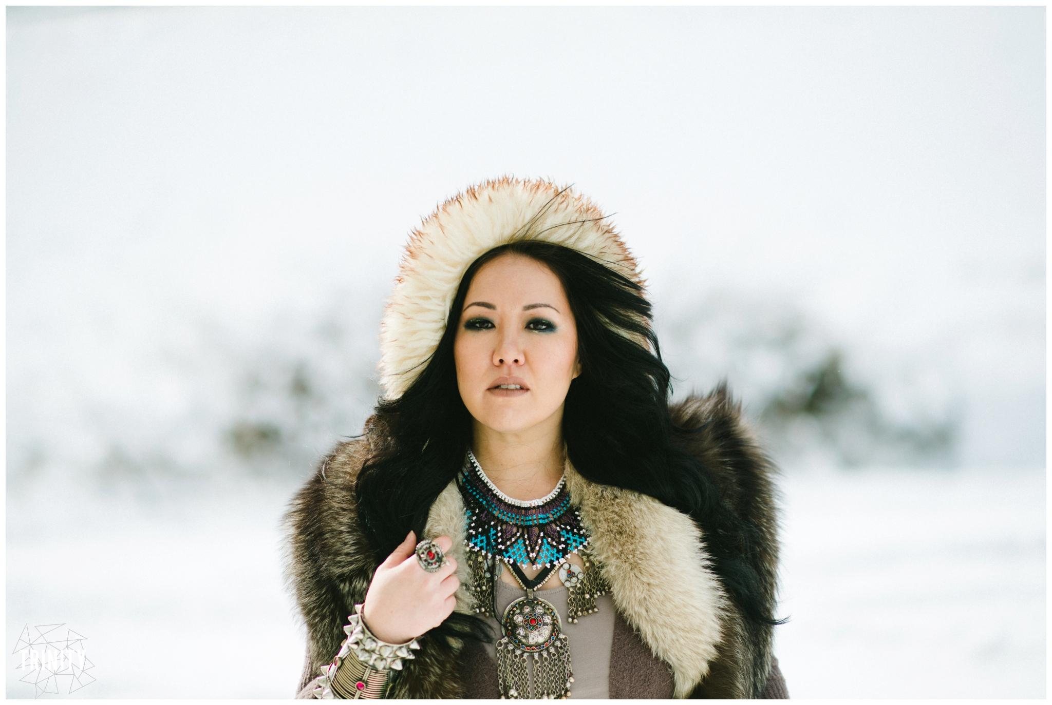 Nomadic Mongolian photography
