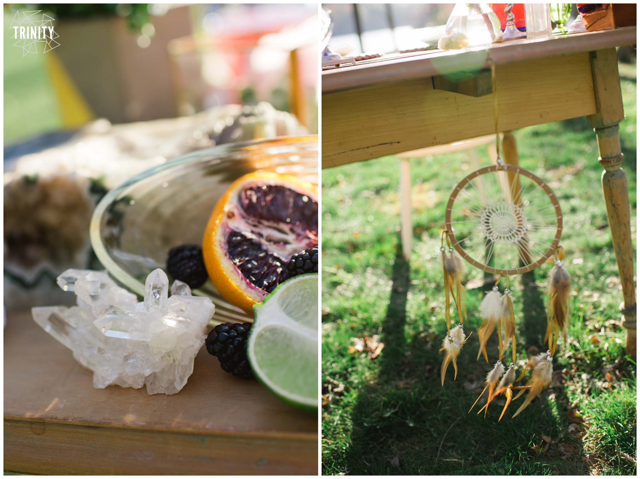 crystal dreamcatcher wedding