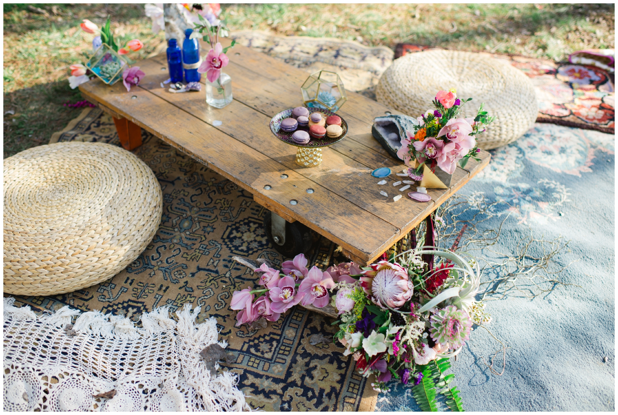 boho wedding reception ideas