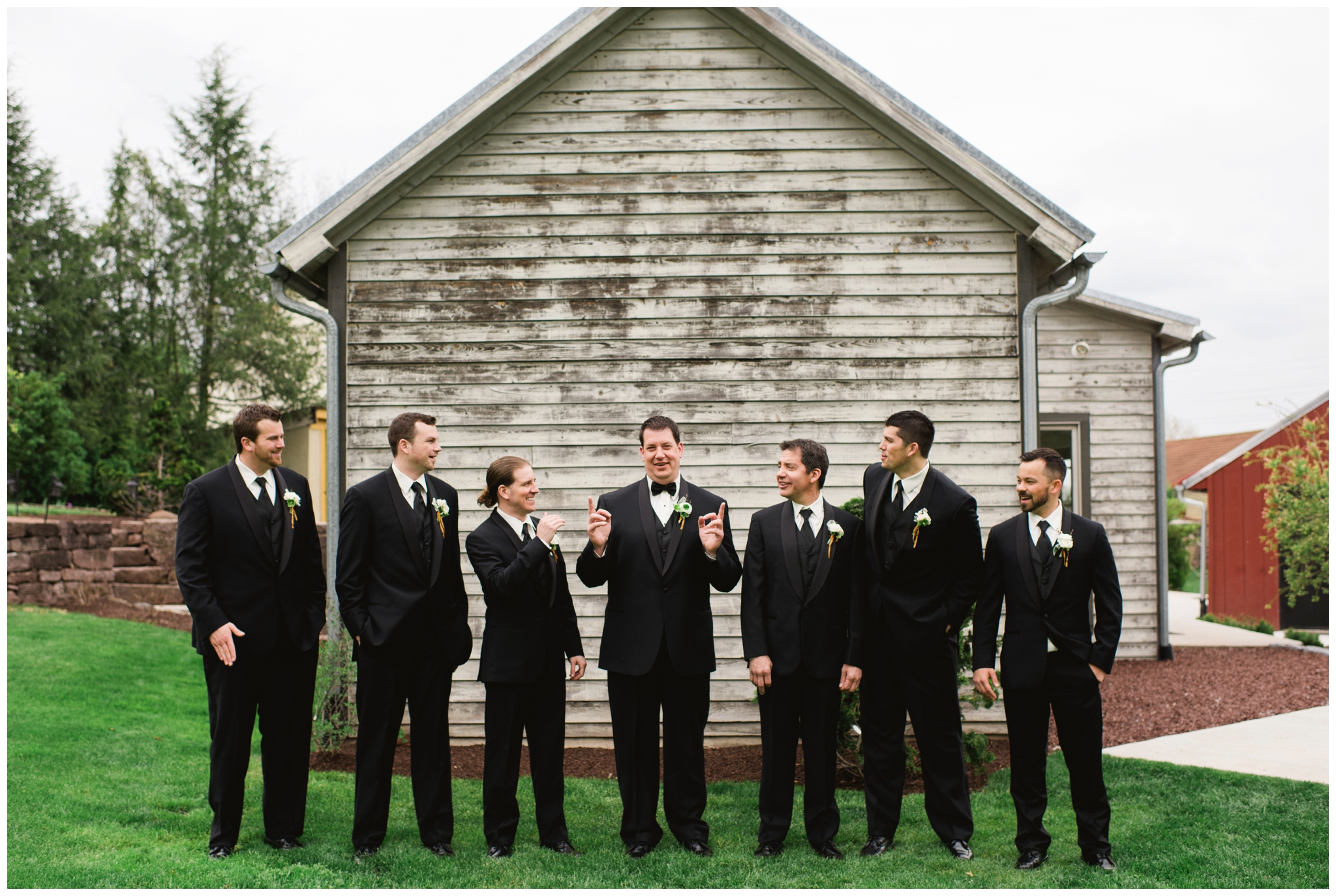 Historic Acres of Hershey wedding
