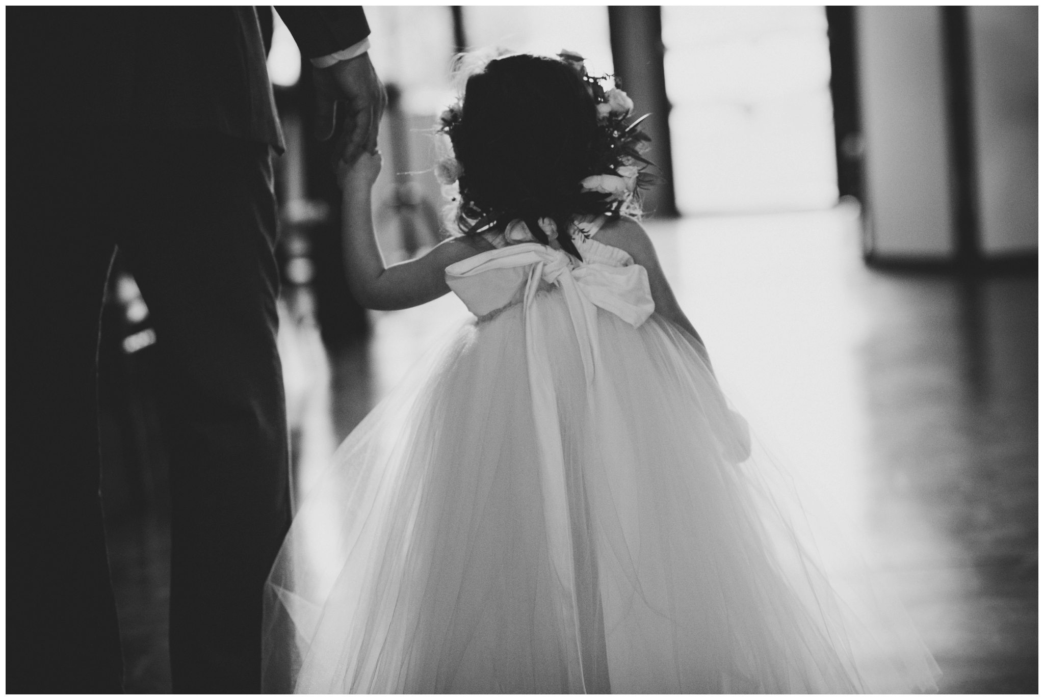 flower girl elopement