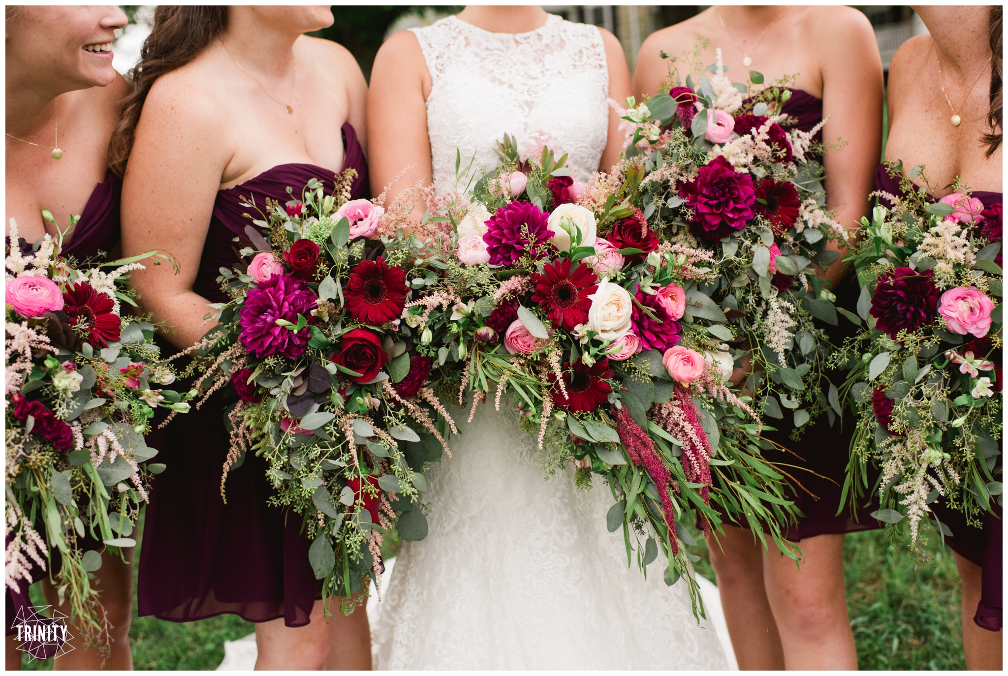 wine wedding bouquet