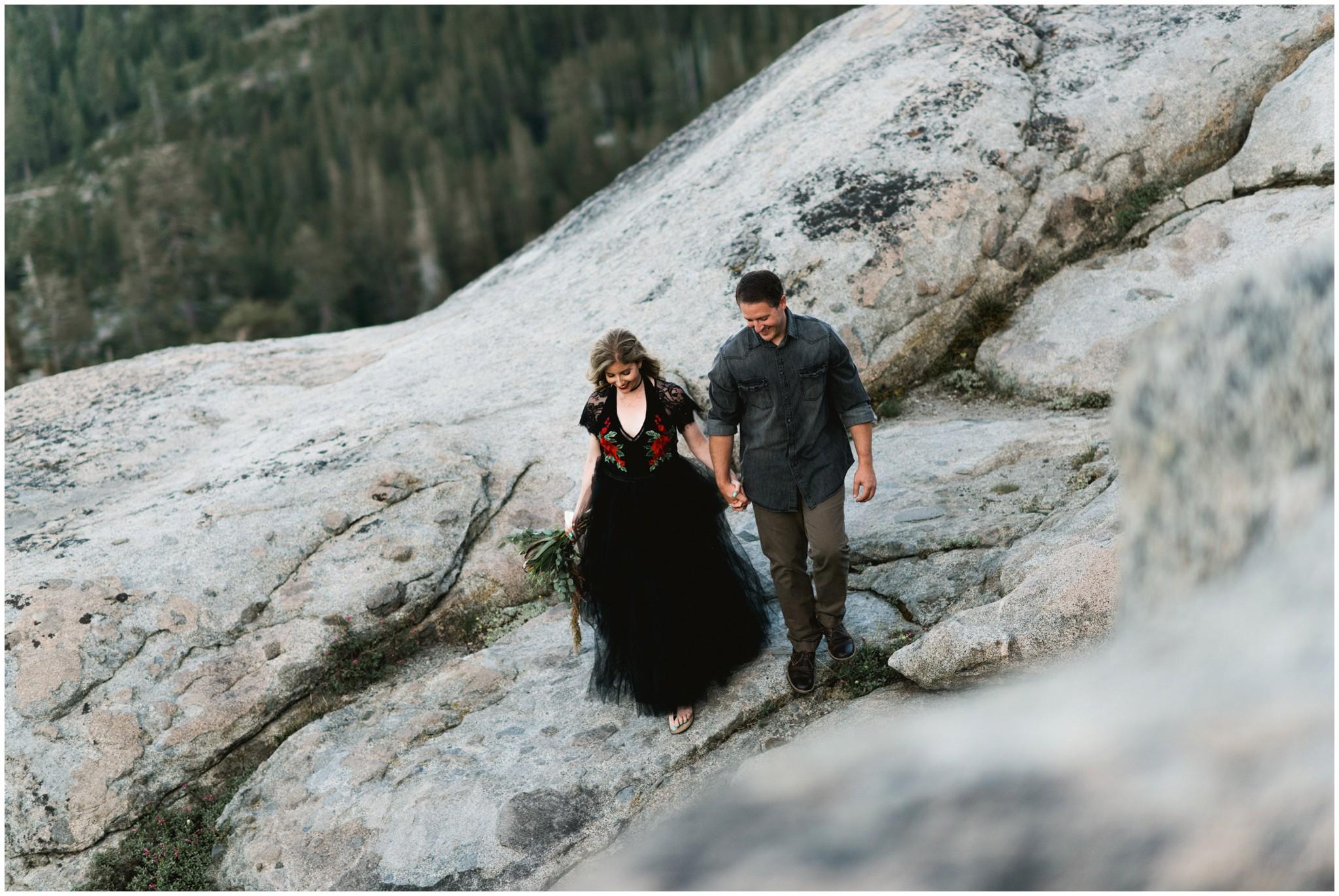 donner summit wedding elopement