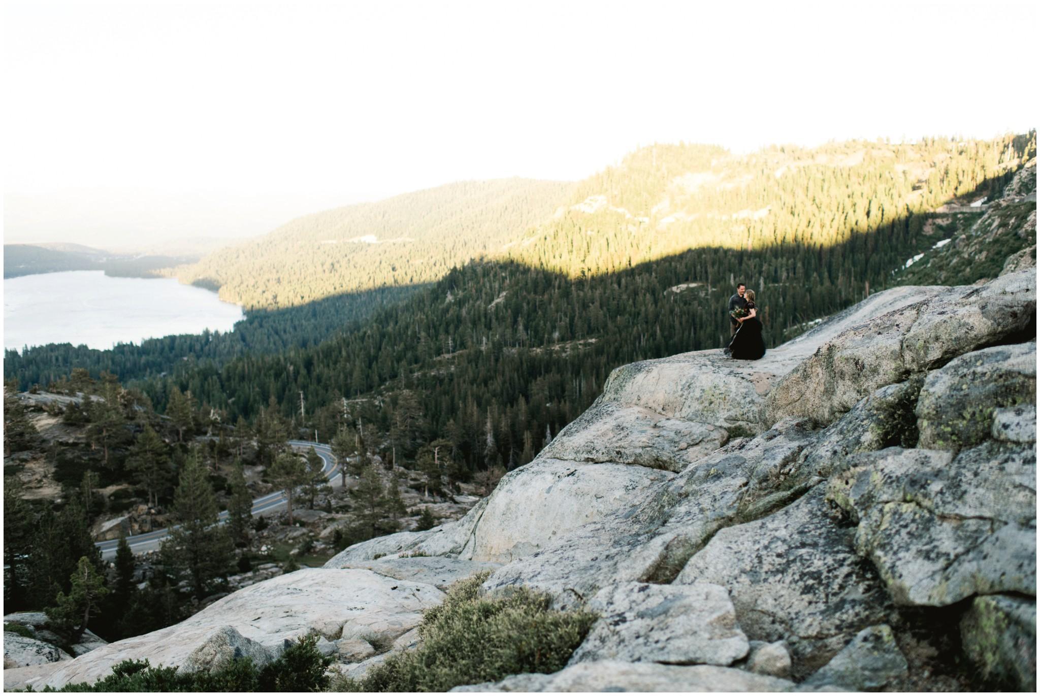 donner summit wedding california