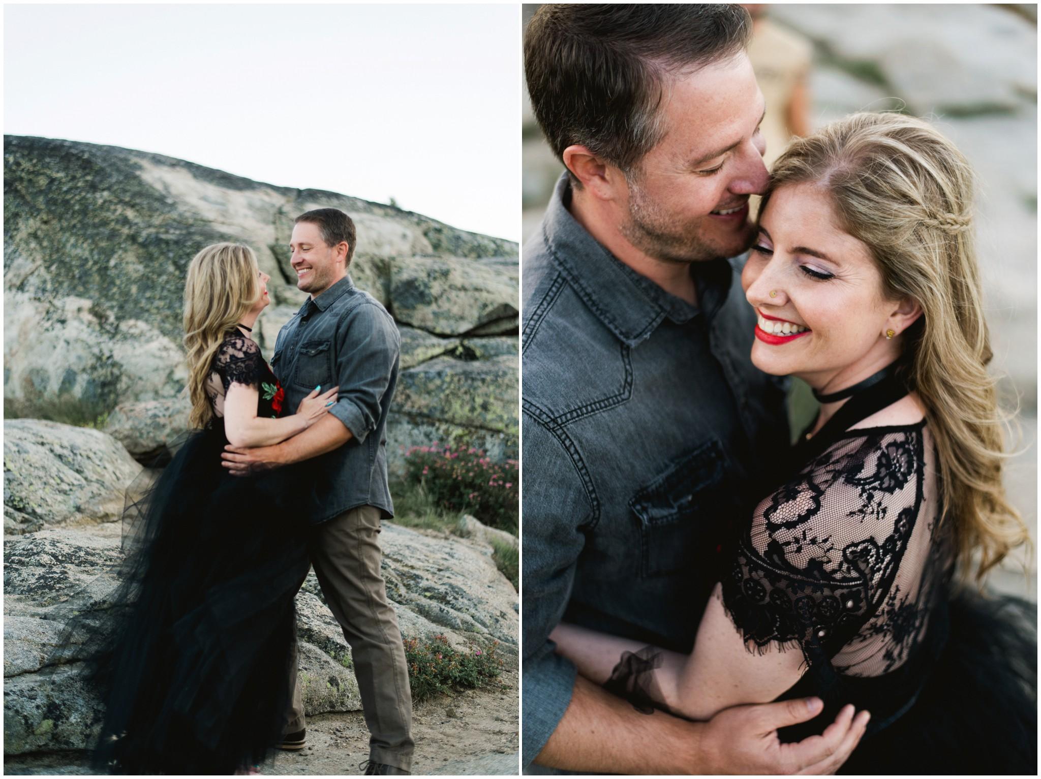 california mountain destination wedding