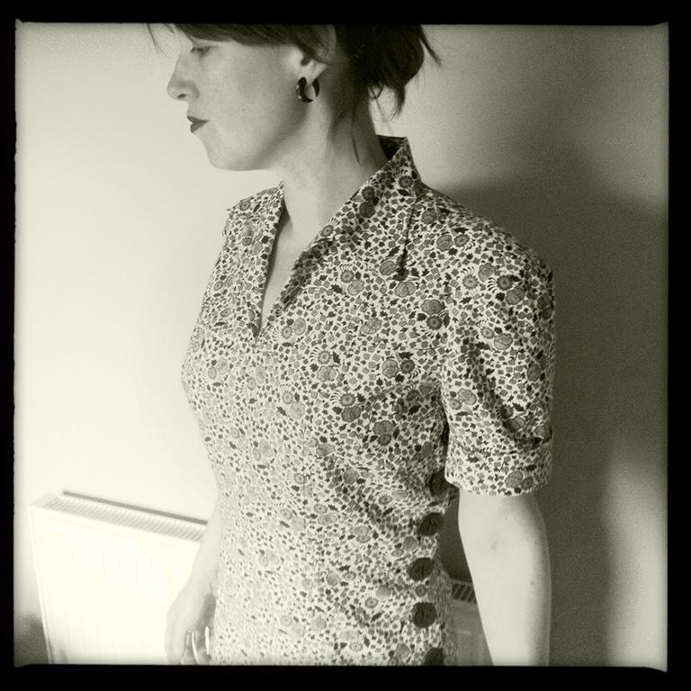 vintage dressmaking 1940s
