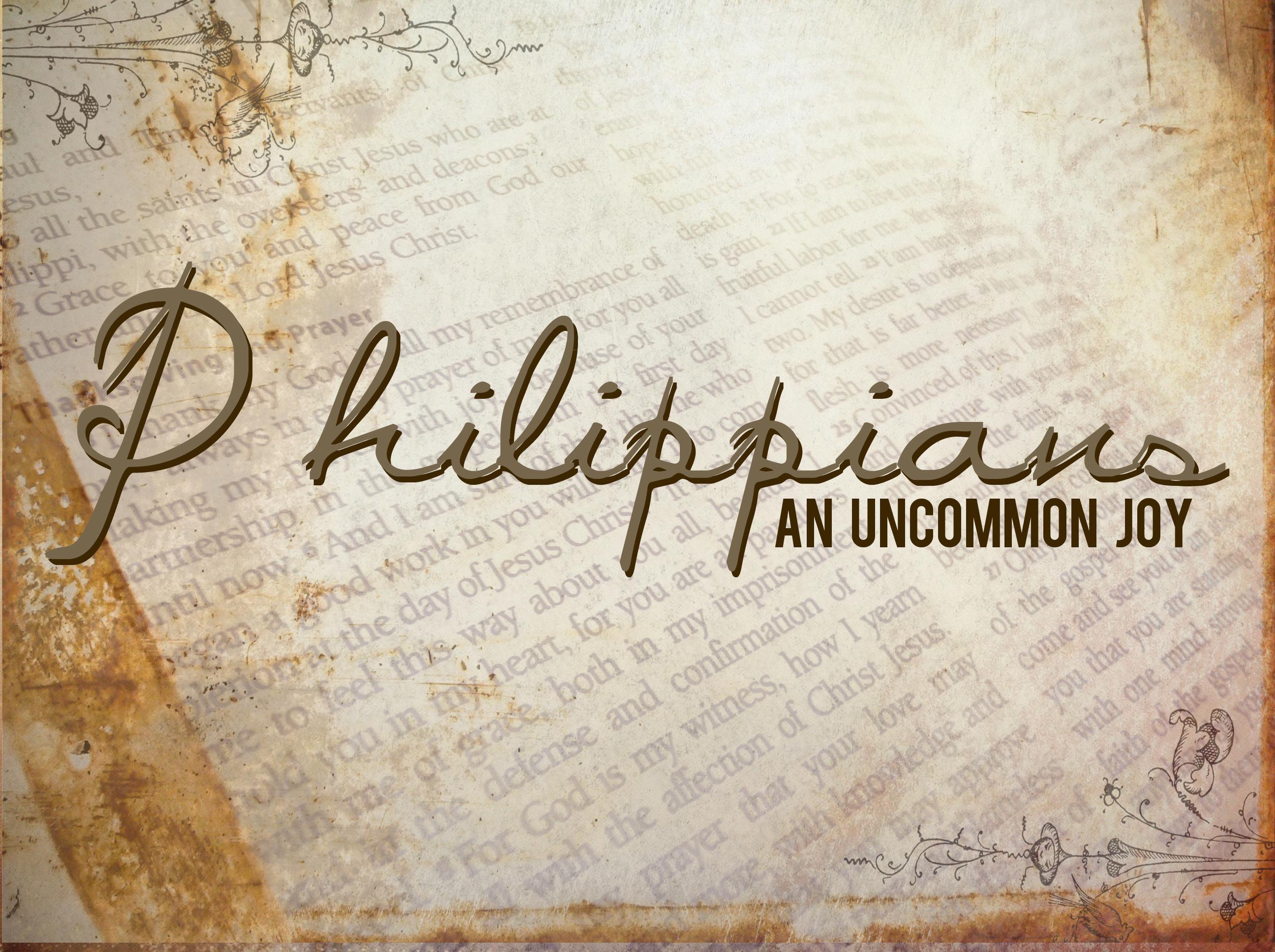 Philippians: An Uncommon Joy