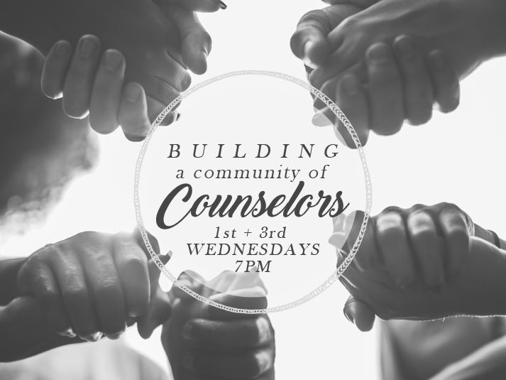 2017, BUILDING A COMMUNITY OF COUNSELORS