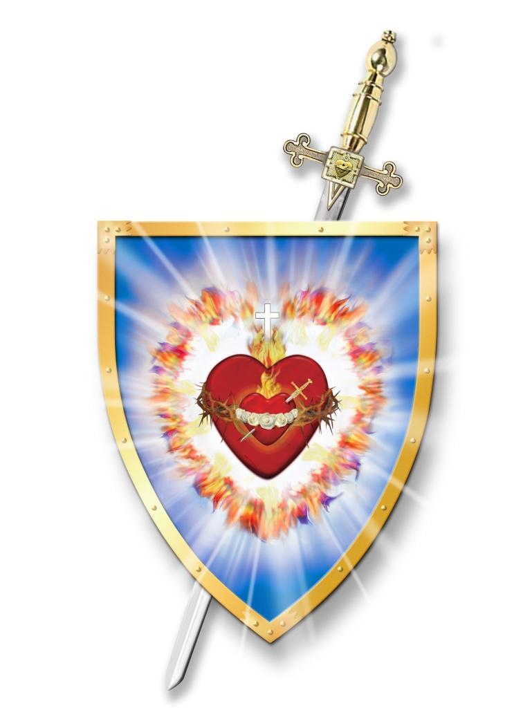 Escudo de la verdad de San Miguel  →      Descarga  r imagen para imprimir      ←