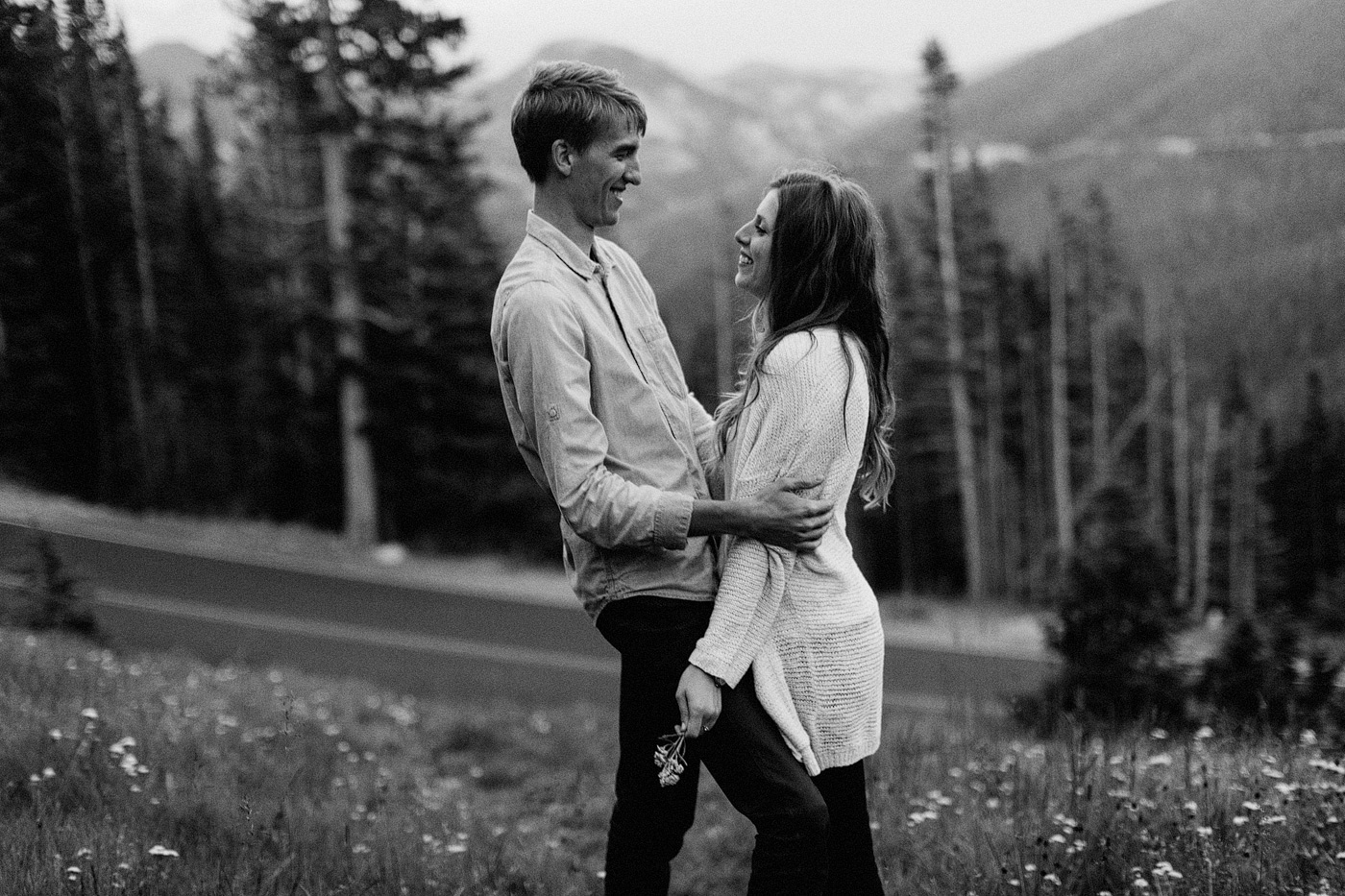 rocky mountain national park elopement photography colorado