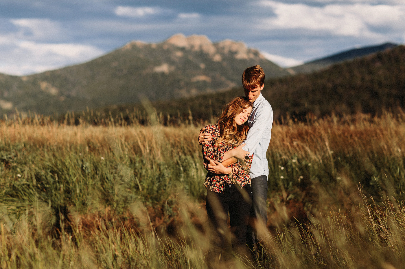 rocky mountain national park colorado intimate elopement estes p