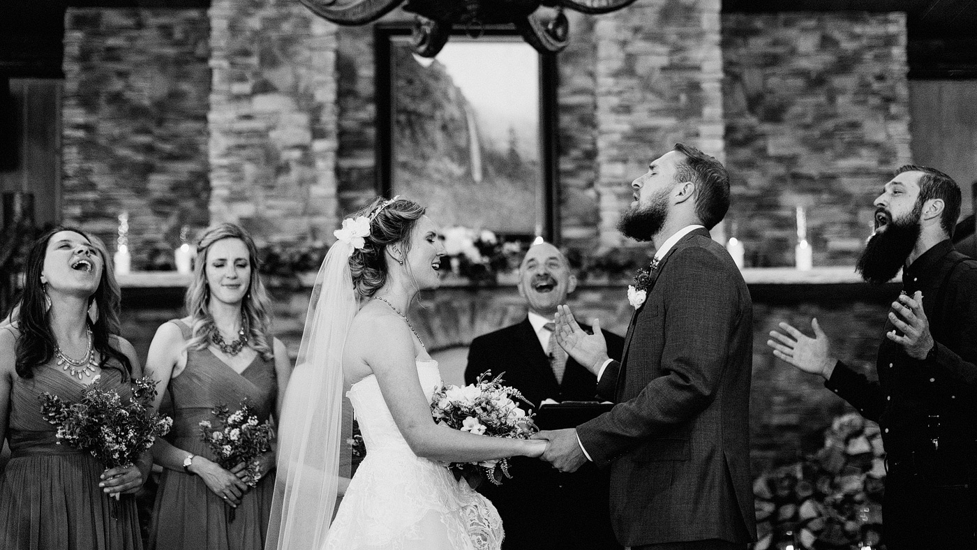 singing wedding ceremony worship colorado