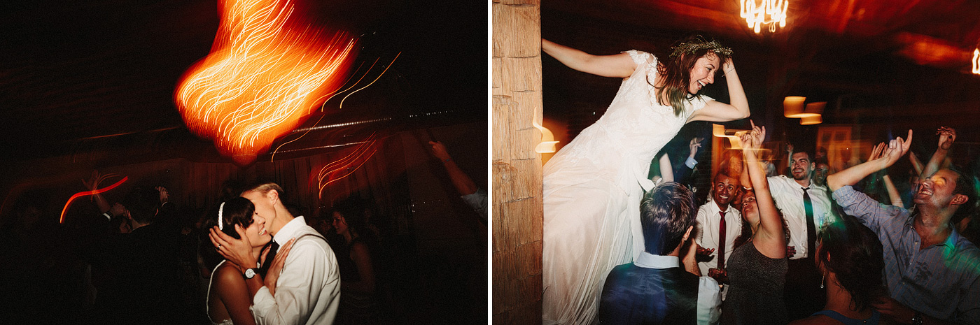 fun wedding dancing photo