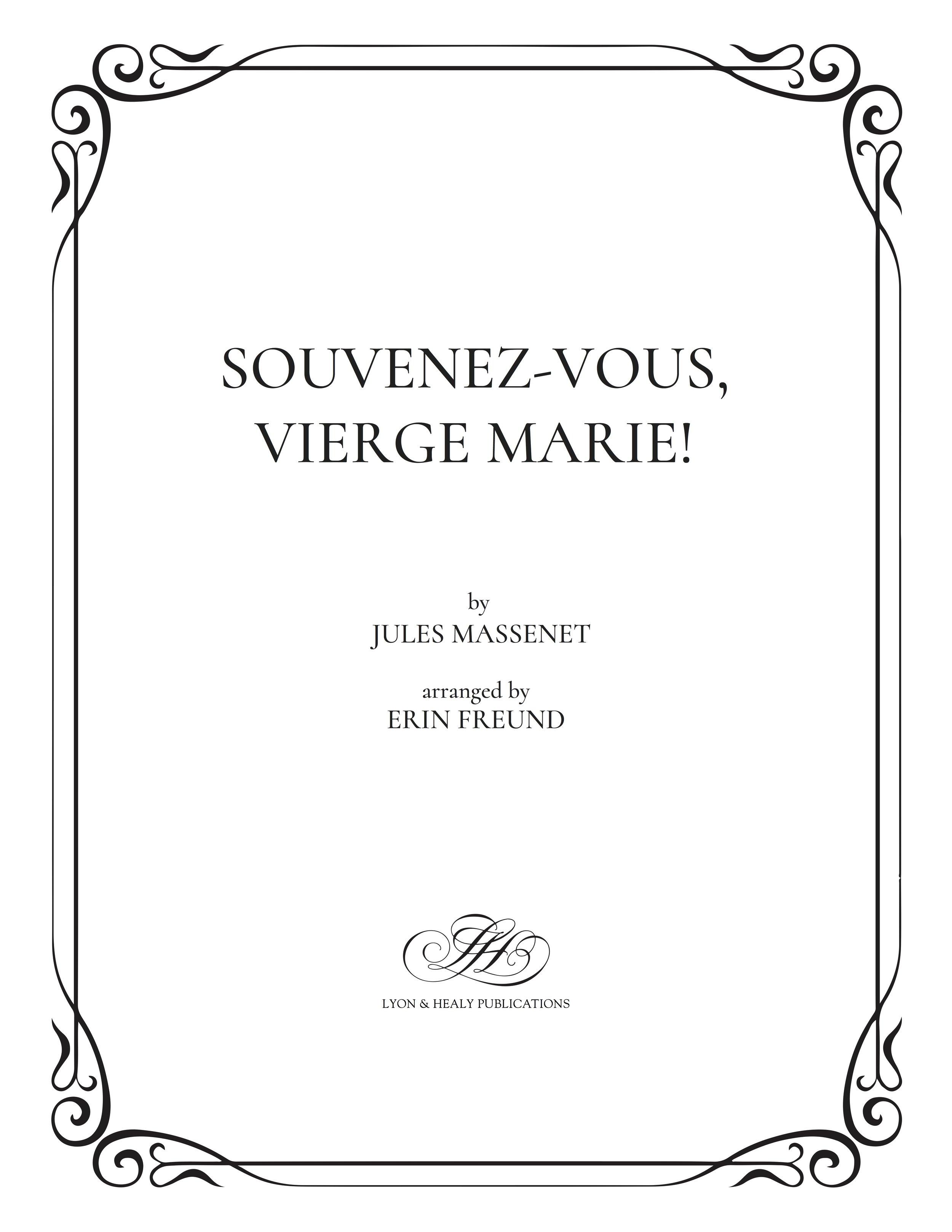 Souvenez-vous, Vierge Marie! cover.jpg