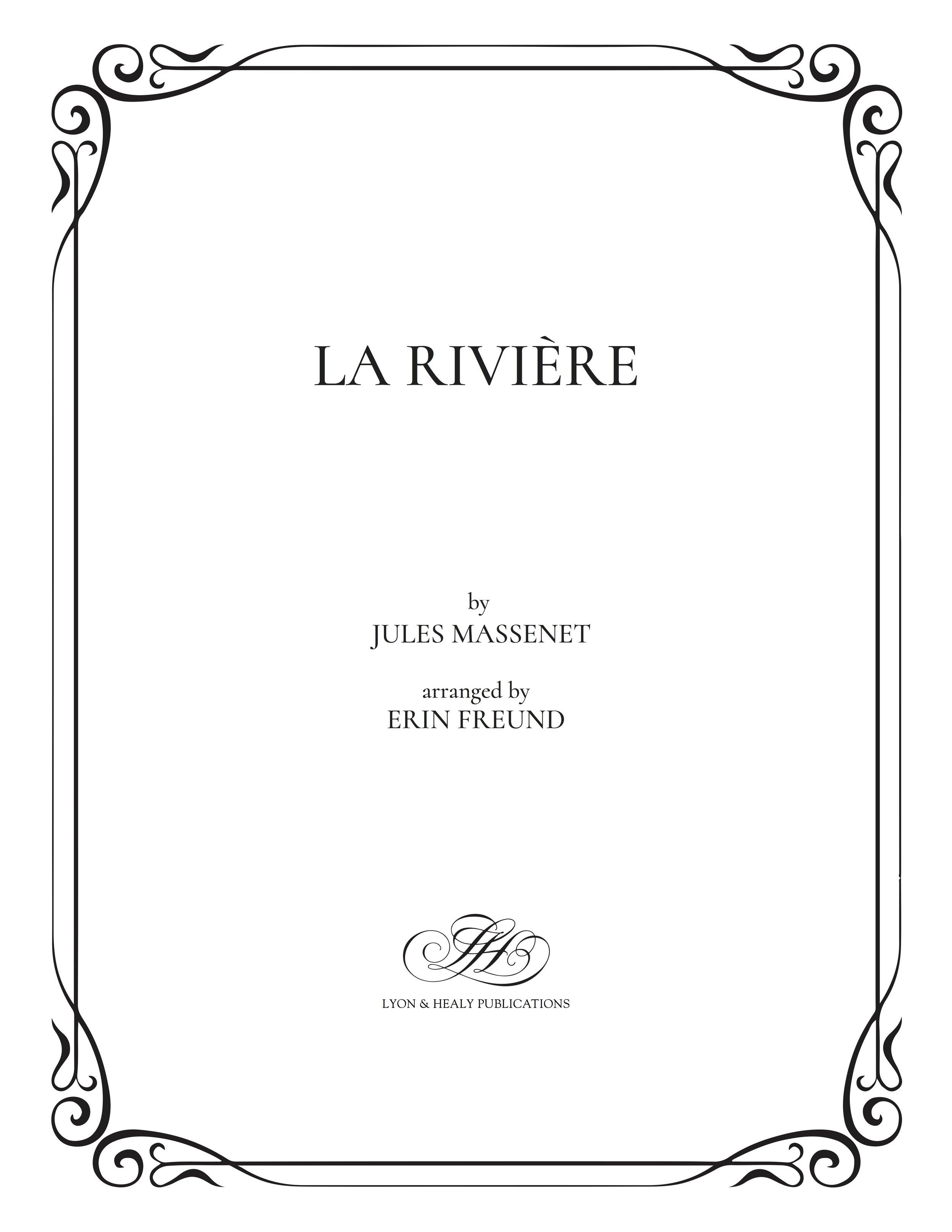 La rivière - Massenet-Freund cover.jpg