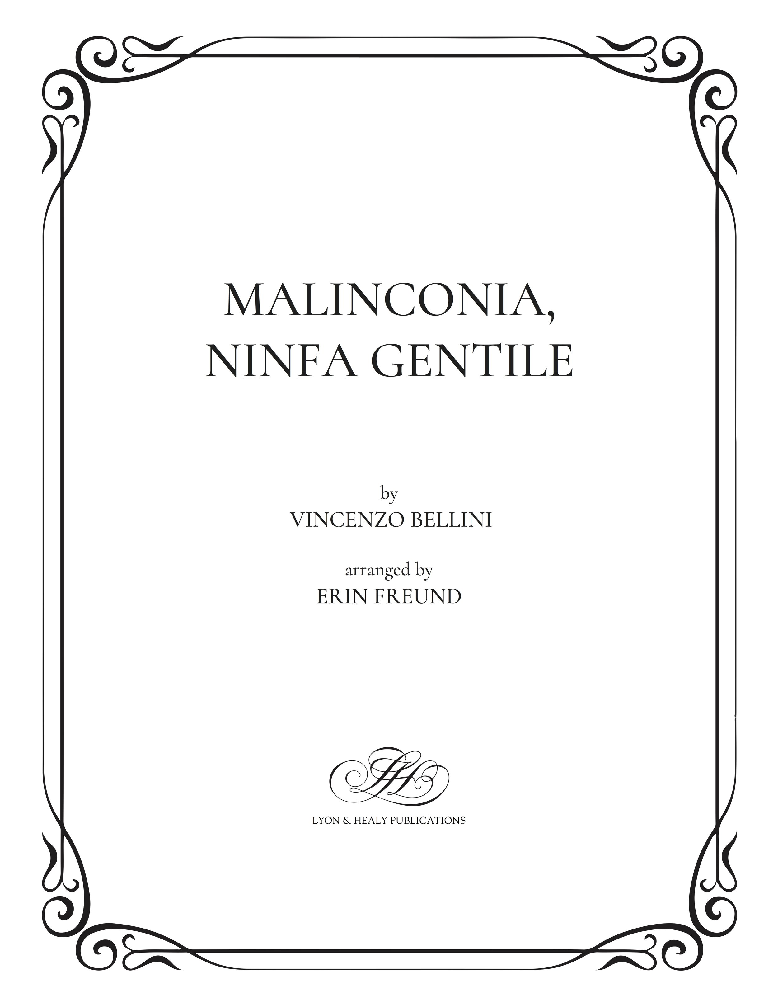 Malinconia, Ninfa Gentile - Bellini-Freund cover.jpg