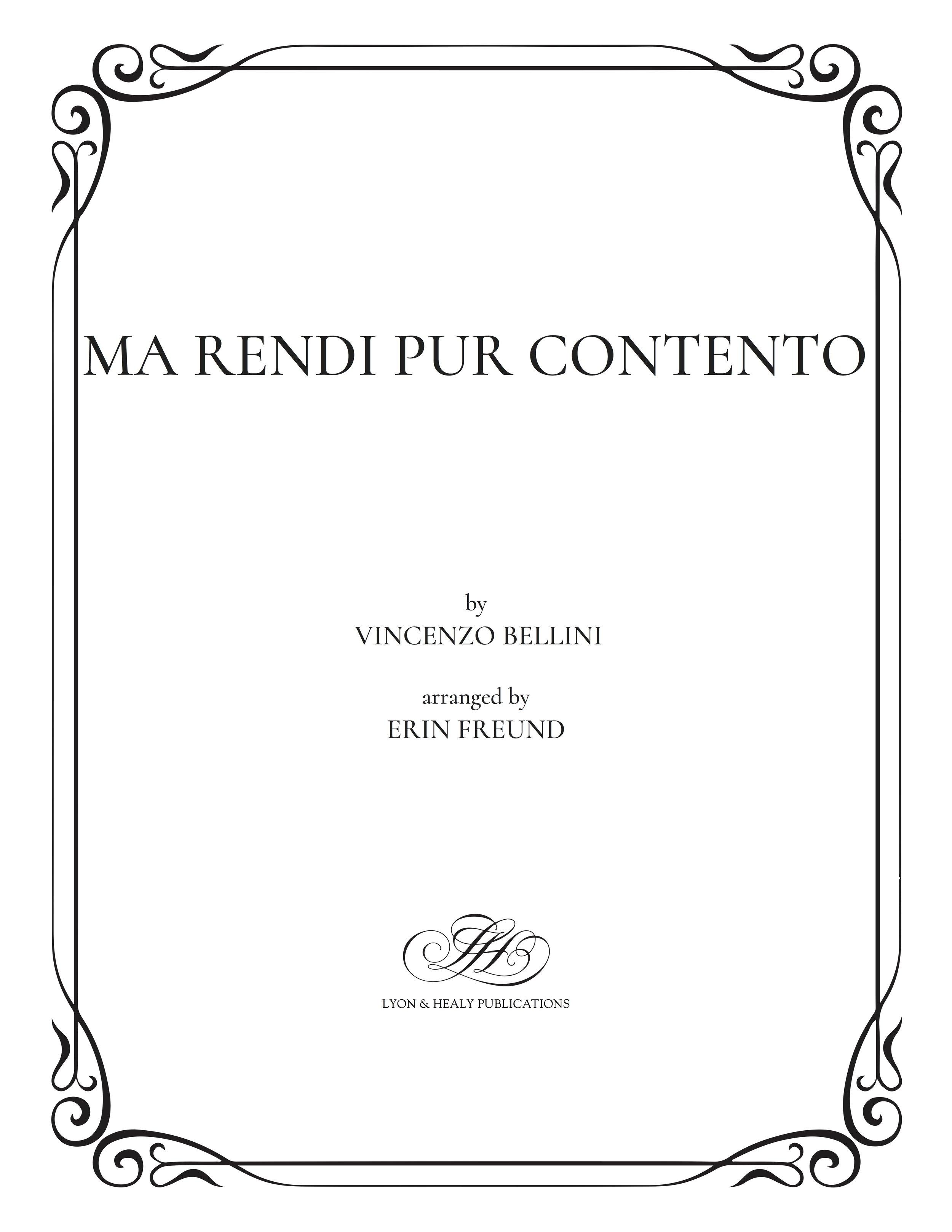 Ma rendi pur contento - Bellini-Freund cover.jpg