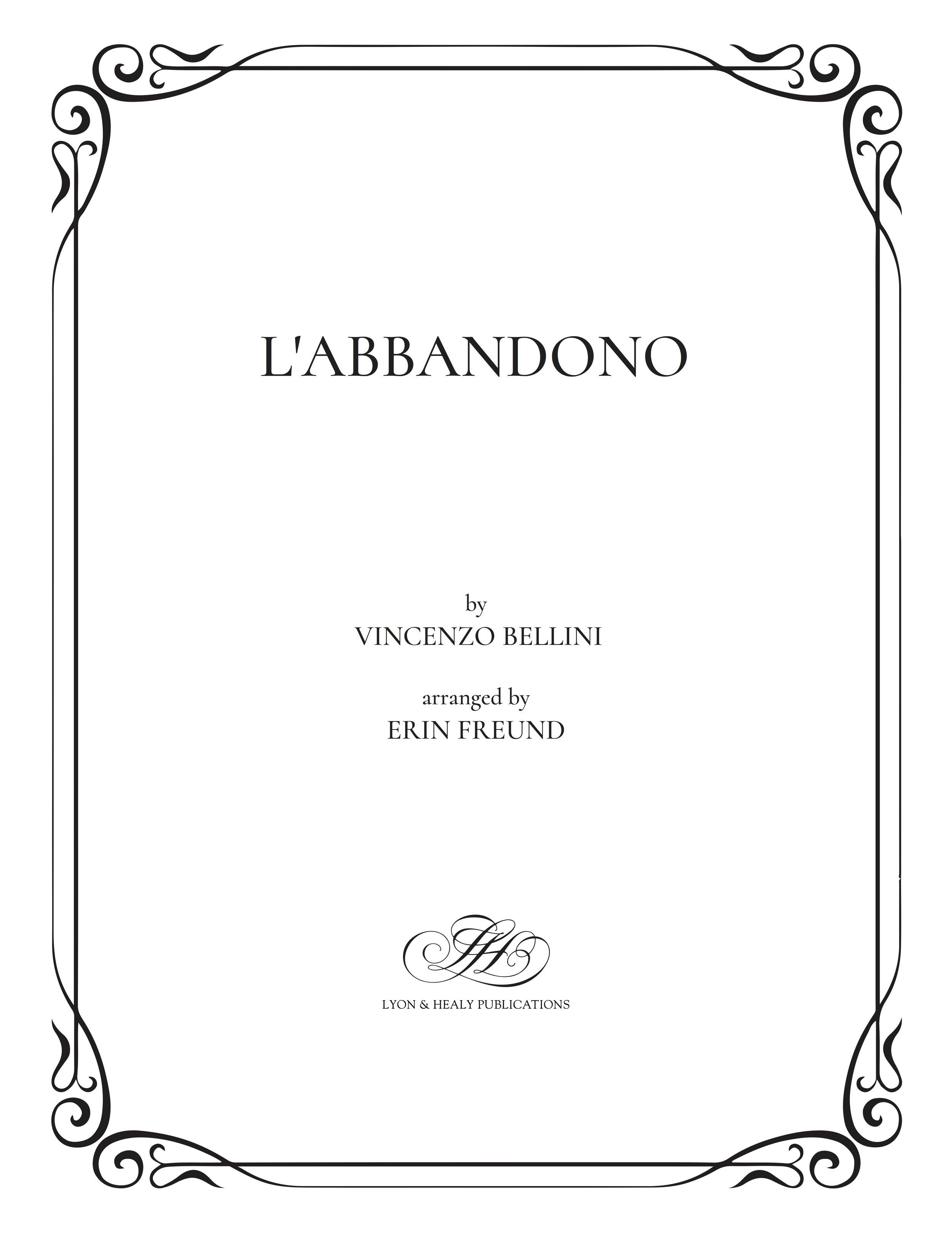 L'Abbandono - Bellini-Freund cover.jpg
