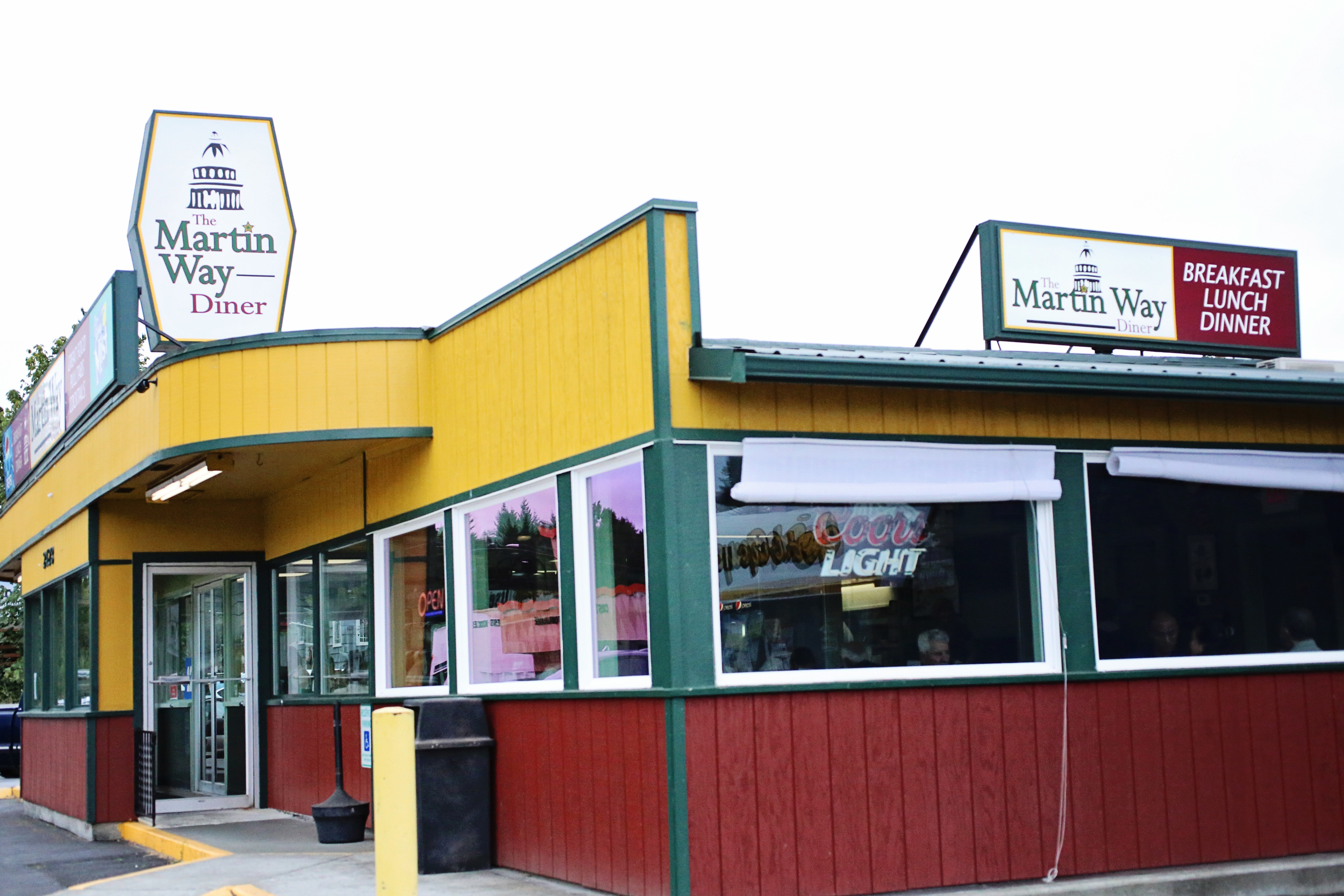 Martin Way Diner, Olympia, Washington