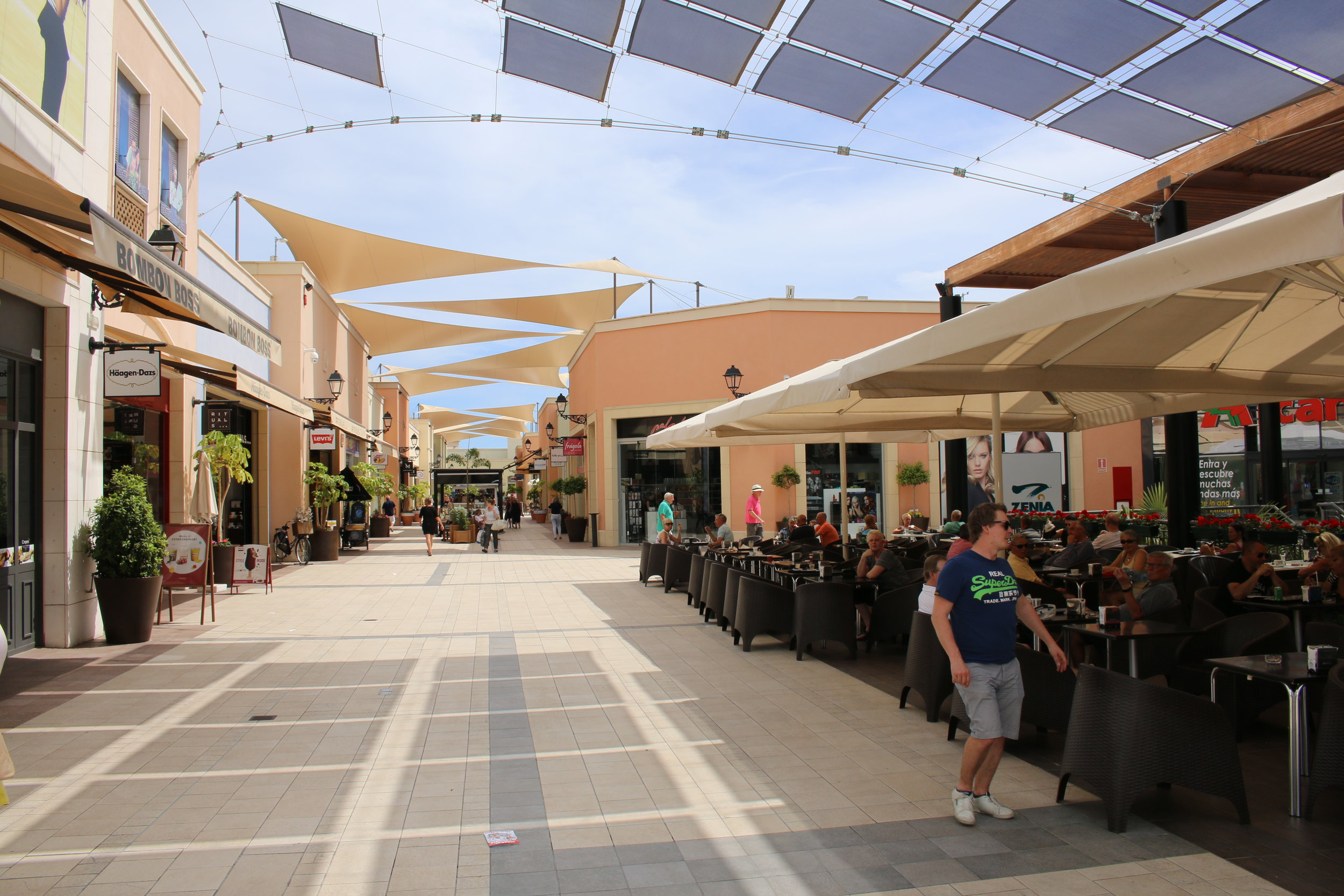 La Zenia Boulevard - et skønt shoppingcenter.